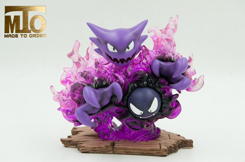 MODEL FANS IN-STOCK 15cm pokemon Pocket Monsters Gastly and Haunter GK resin made toy figure for Collection model fans in stock 23cm pokemon snorlax gk resin made figure toy for collection