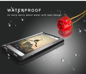 Image 5 - For SONY Xperia XA2/ XA2 Ultra Case LOVE MEI Shock Dirt Proof Water Resistant Metal Armor Cover Phone Case for Sony Xperia XA2
