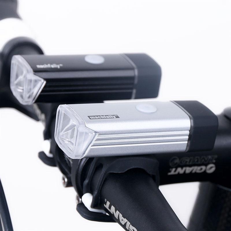 Bicycle Front Light USB Rechargeable High Power LED Head Lamp Handlebar Lighting Lantern Bike Cycling Flashlight 800mAH