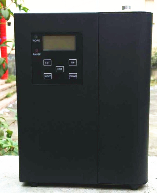 US $170 0 |Led panel display hotel Scent Diffuser Machine with 300m3/AC100  240V/free cartdige/ tube oil diffusers 1 year free warranty-in Air