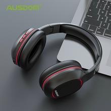 Ausdom M09 Over-Telinga Stereo Kabel Nirkabel Bluetooth Headphone V4.2 Foldable Bluetooth Headset dengan MIC Mendukung TF Card