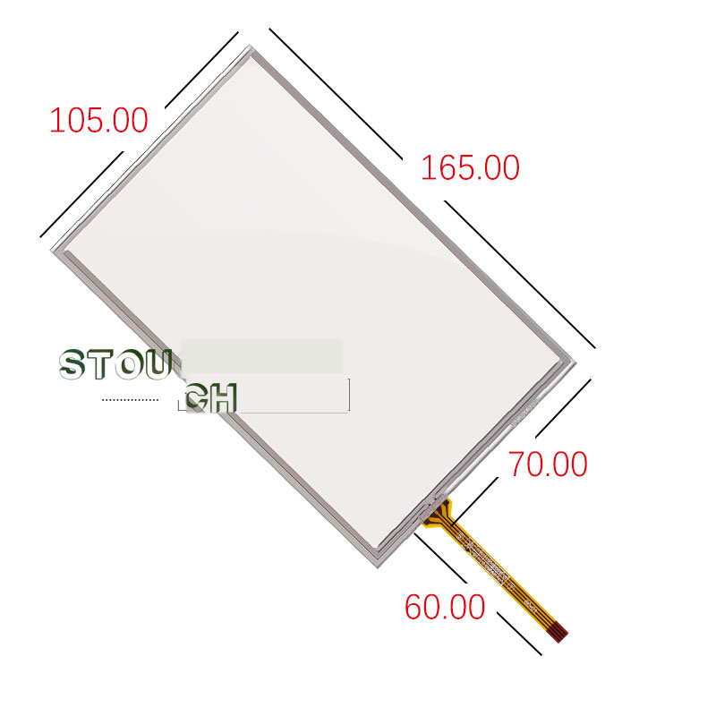 Tk6070 Amt9545 Handwriting Touch Screen 105*165 Crease-Resistance Tk6070ik Wei Lun Touch Screen 7 Inch Tk6070ih