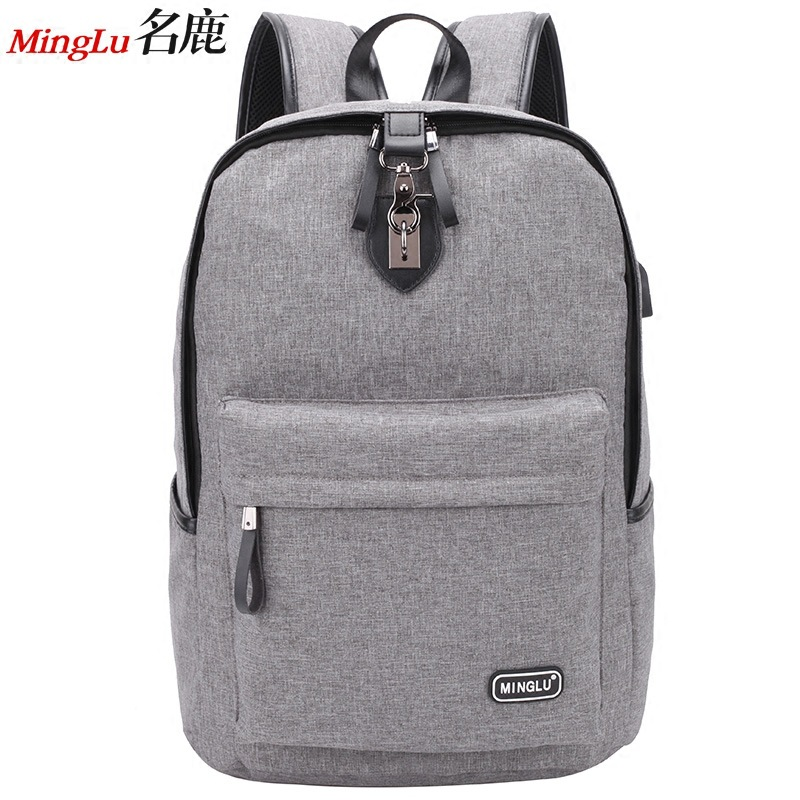Spot high school students schoolbag male junior high school fashion trend backpack personality street campus factors contributing to indiscipline among high school students