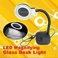Увеличительное стекло из светодиодов лампы стол увеличение из светодиодов настольные светильники лупы