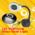 Magnifying Glass LED Light  Lamp Desk Magnifying LED Table Light Magnifier