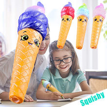 MUQGEW poopsie slime surprise Squishies Pencil Grip Slow Rising Pencil Toppers Fruit Scented Stress Relief Toy scuishi #y2(China)