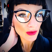 cb2c57c7e SHAUNA Oversize Women Cat Eye Glasses Frame Unique Ladies Clear Lens UV400.  US $11.40. SHAUNA Oversize Mulheres Óculos Olho De Gato Quadro ...