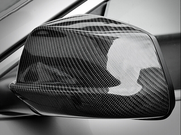 Carbon Fiber Mirror Cover Full For BMW 5 series F10 5GT F07 2014 2015 american industrial vintage loft creative hemp rope house pendant light restaurant cafe decoration retro lamp free shipping