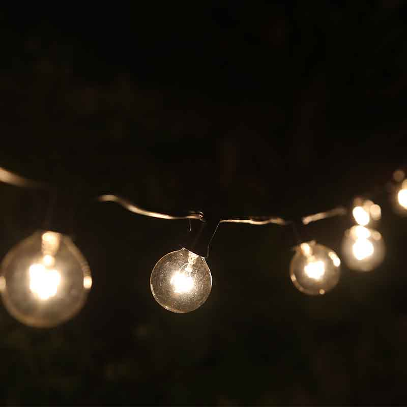 G40 Outdoor String Light Bulbs Listed, Indoor Outdoor Decor, Wedding Light, Backyard  Light,Christmas Decoration Lights, Water In Glow Party Supplies From ...