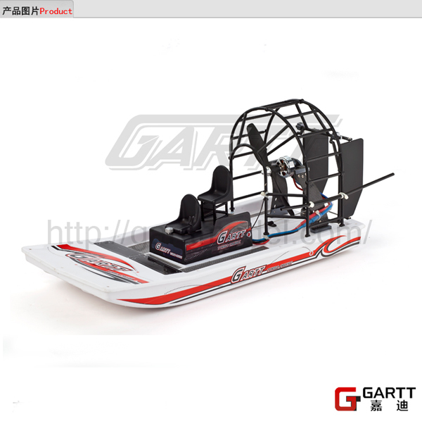 Freeshipping 2017 GARTT High Speed Swamp Dawg Air Boat without Electric Parts Remot Control Two Channels Big SaleTurbo Cruise