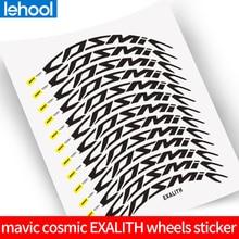 Adesivos de aro com duas rodas mavic cosmic pro, decalques de aro 40c 40/50mm sem aro de bicicleta de estrada envio do frete