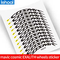 Road bike bicycle two wheels set rim stickers for mavic cosmic Pro carbon EXALITH 40C 40/50 mm rim decals free shipping