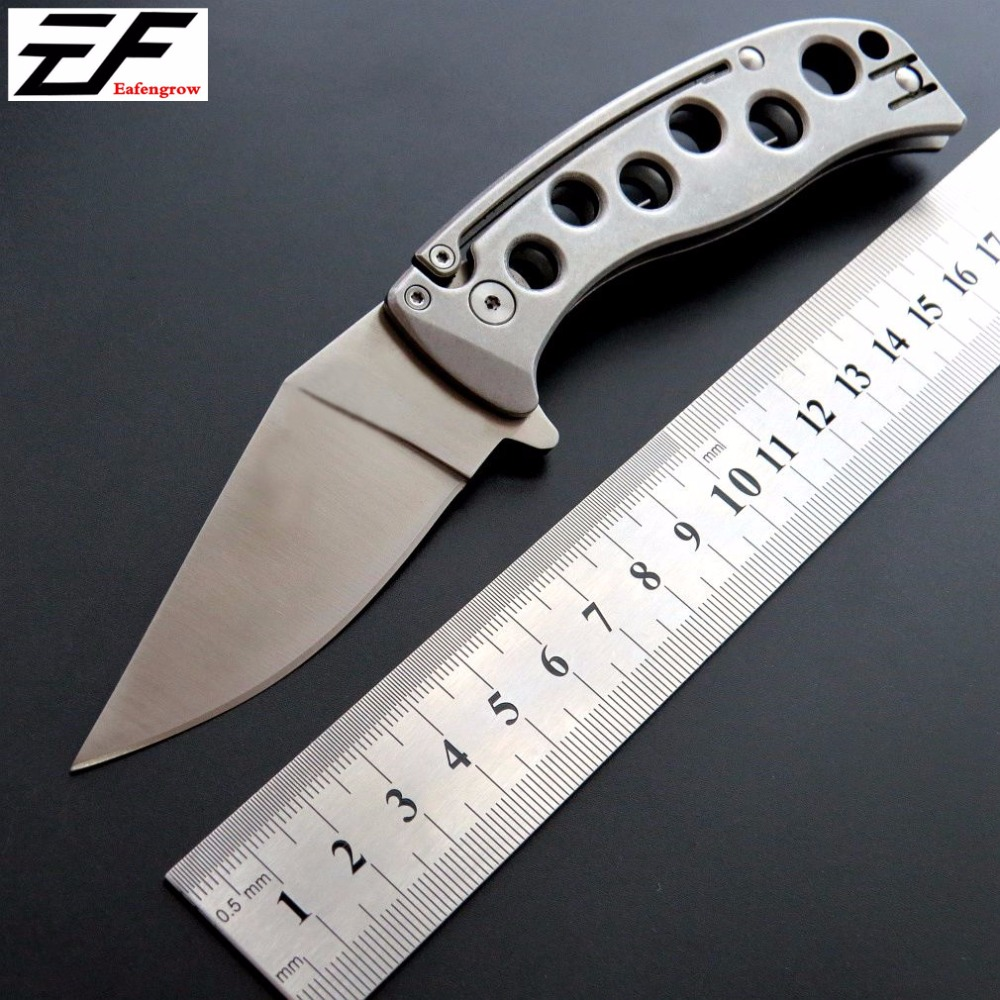 Newest C192TI Folding Blade Knife 9Cr18Mov steel Blade pocket knives Outdoor Camping Tool Knives EDC C192 Tactical tool Knife pegasi browning fixed tactical folding pocket knife titanium coating 440c stainless steel blade outdoor edc knives