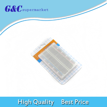 цена на Mini Universal Solderless Breadboard 400 Contacts Tie-points Available