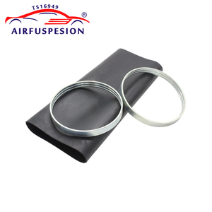 Image 4 - Rear Rubber Air Spring Sleeve With Rings for mercedes W220 Air Suspension Bladder 2203205013  2203202338