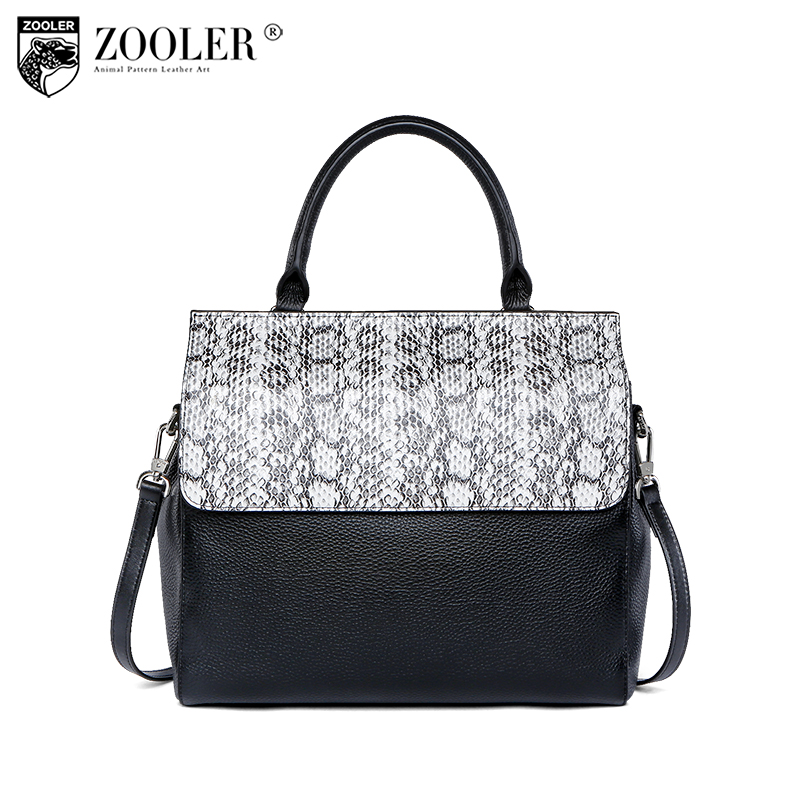 hot new &hot woman leather bag elegant style ZOOLER 2018 genuine leather bags handbag women famous brand bolsa feminina #u500 hot