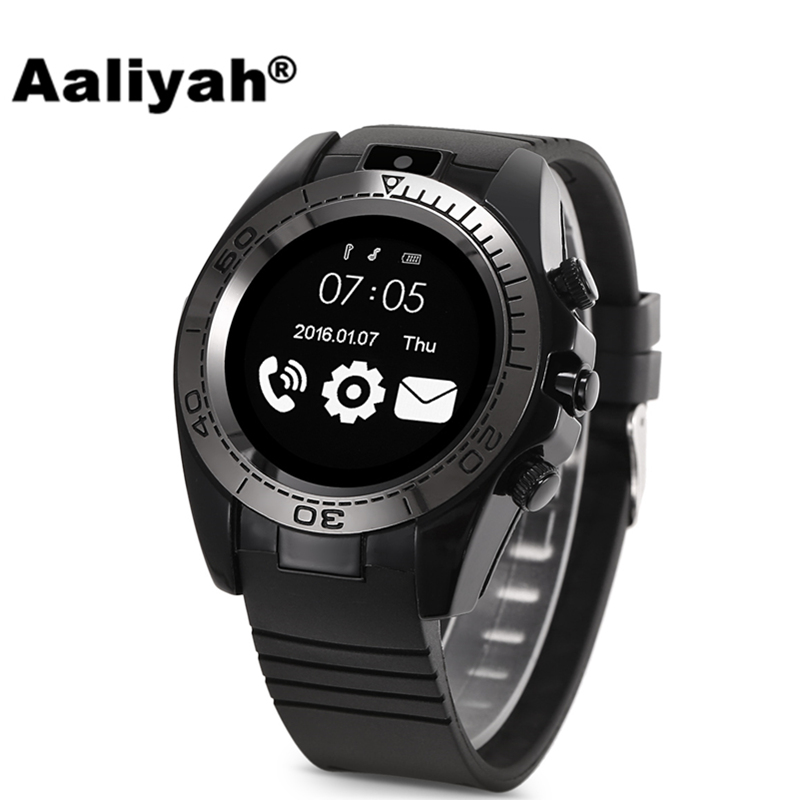 Aaliyah Bluetooth Smart Watch SW007 supports SIM TF card camera Relojes Smartwatch Relogios compatible with xiaomi Android phone стоимость