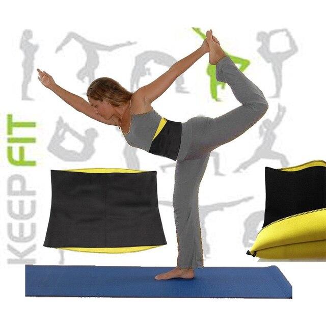 Sweat Belt Neoprene Body Shaper Slimming Belts for Women Waist Trainer Cincher Underbust Corset Trimmer Tummy Control Binder 1