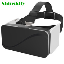 Shinsklly Virtual Reality 3D Glasses Mobile Phone 3D Video Movie 3D Game Small Light Thin for iPhone/Samsung 4.7-6.0Smart Phone