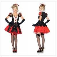 Sexy Halloween-kostüm Für Frauen Erwachsene Königin Snowwhite Cosplay Kleid Thema Fantasien Einheitliche Versuchung Carnaval WL113