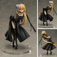 24cm Anime Fate Grand Order Figures Saber Joan of Arc Spiritual Dress Ver. PVC Action Figure Collectible Model Toys For Gifts