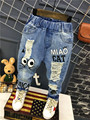 2016 new fashion baby clothing 2-7years Korean Toddler boy jeans Children Jeans pants for boys Baby boys ripped trousers pants
