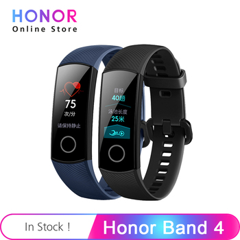 Huawei Honor Band 4 0.95 inch AMOLED Color Screen Swimming Supported Swim Posture Detect Heart Rate Sleep Snap Smart Wristband