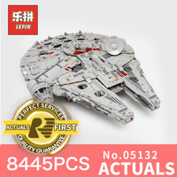LEPIN 05132 7541Pcs Star Series Wars Ultimate Collector S Model Destroy Educational Building Blocks Bricks Toys