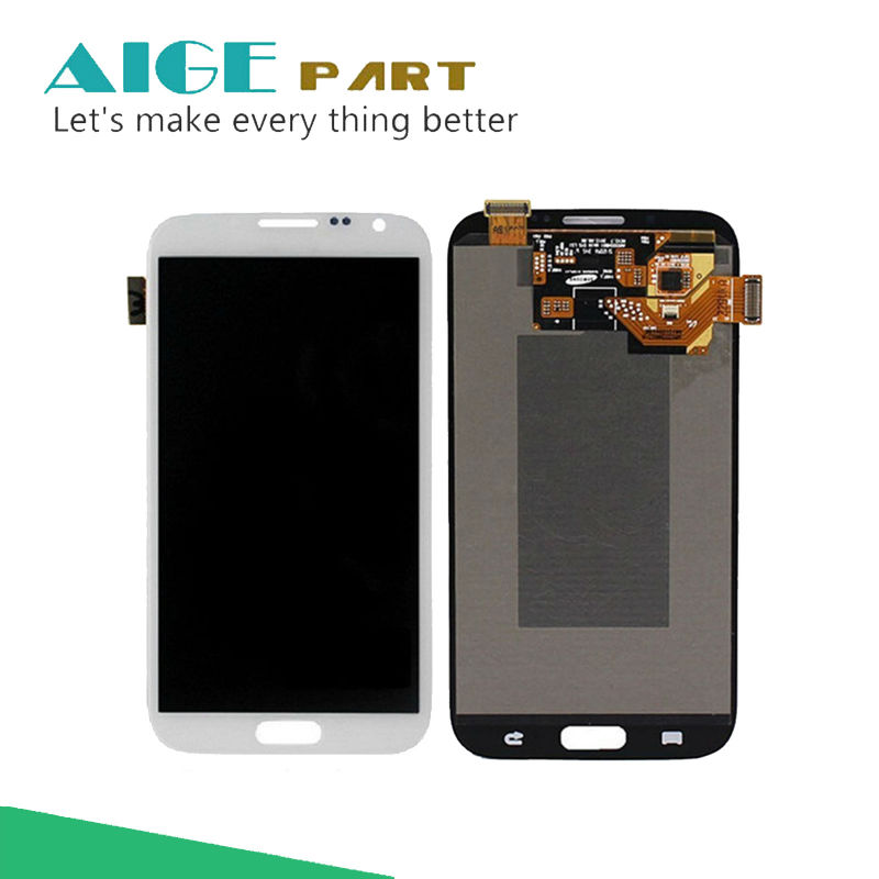 5.5 For Samsung Galaxy Note 2 Note2 N7100 LCD Display+Touch Screen Digitizer Assembly Replace Free Shipping 1280*720 brand new3 n7100 lcd free shipping 10pcs n7100 lcd touch sceen digitizer assembly for samsung galaxy note 2 lcd
