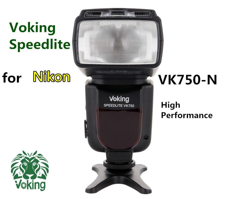 Voking Hot shoe flash Speedlite VK750-N for Nikon D60 D90 D3000 D3100 D3200 D5000 D5100 D5200 D7000 D7100 Digital SLR Cameras voking speedlite speedlight camera flash vk900 for nikon digital slr cameras