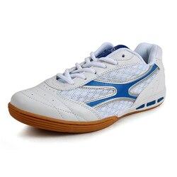 Buty do tenisa stołowego dla Wmens i kobiet lekkie profesjonalne ping pong buty oddychające zasznurować sportowe trampki D0528