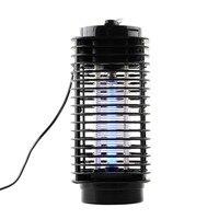Tragbare Mini Nachtlicht Insekt Elektrische Moskito Fliegen Bug Insektenvernichter Praktische Falle Lampe Schwarz Home Safe Anti-mücken