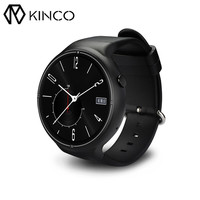 KINCO 2 GB 16 GB כרטיס ה-SIM טלפון שעון חכם IP67 3 גרם לפקח על קצב לב תנועת מעקב שינה WIFI GPS APP חכם שעונים
