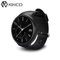 Kinco 2 جيجابايت 16 جيجابايت سمارت ووتش الهاتف ip67 sim بطاقة 3 جرام حركة القلب رصد معدل الذكية النوم تتبع app gps wifi الساعات