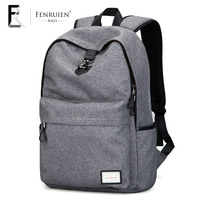 2017 FRN New Arrival Casual Usb Design Oxford School Backpacks Brand Urban 15 6 Laptop Backpack