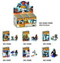 Bela 10384-10389 Star Wars Legion of Warships Storm Trooper HEVOS Minifigures Building Block Toys Compatible with Legoe