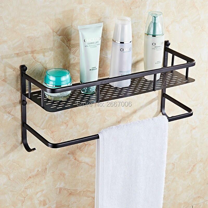Online kopen wholesale zwart badkamer plank uit china zwart ...