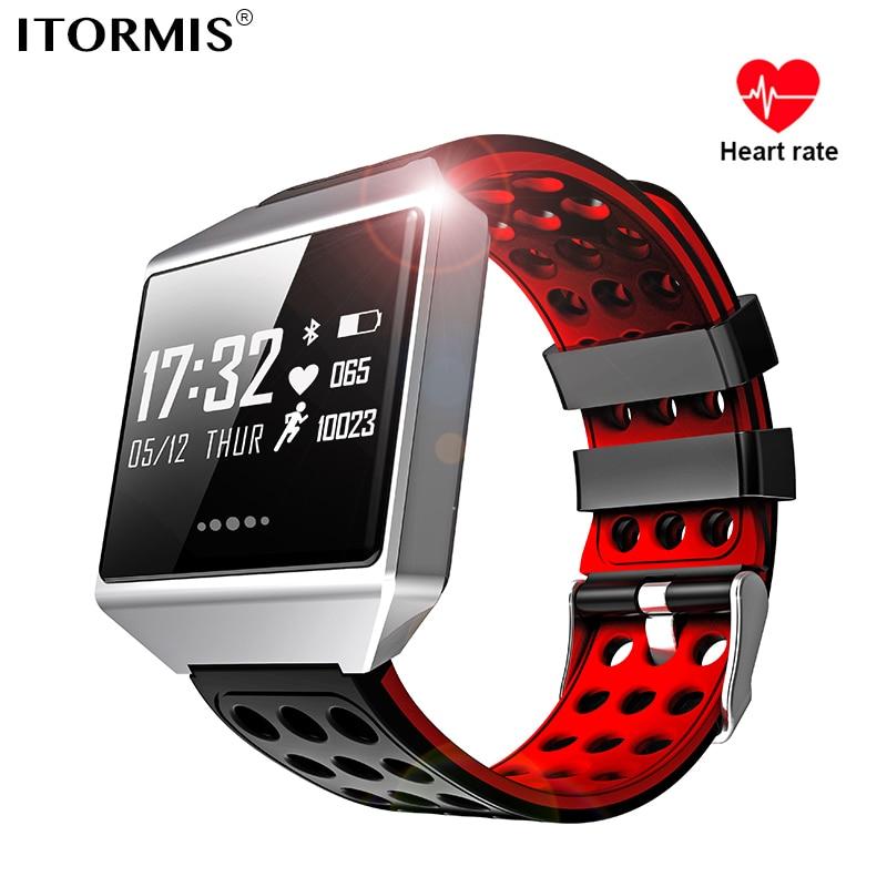 ITORMIS Smart Band Bracelet SmartBand Remise En Forme Bracelet de Sport avec le Coeur Taux Activité Tracker Étanche PK miband mi bande 2