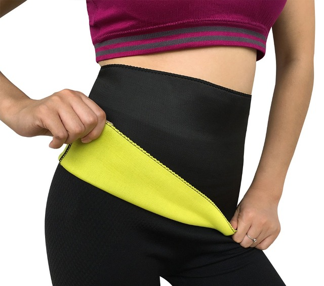 70561006cd0ae Hot Shapers super stretch neoprene shaper sauna slimming abdomen belly belt  Fit Sweat Shaper Body magic girdle Size S M L XL