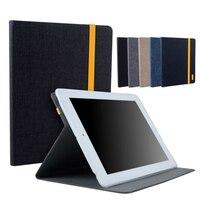 9,7 zoll tablet case für ipad 2 3 tpu jean leder case abdeckung stoßfest schutz stand smart fundas für ipad 2 3 ipad2 ipad3
