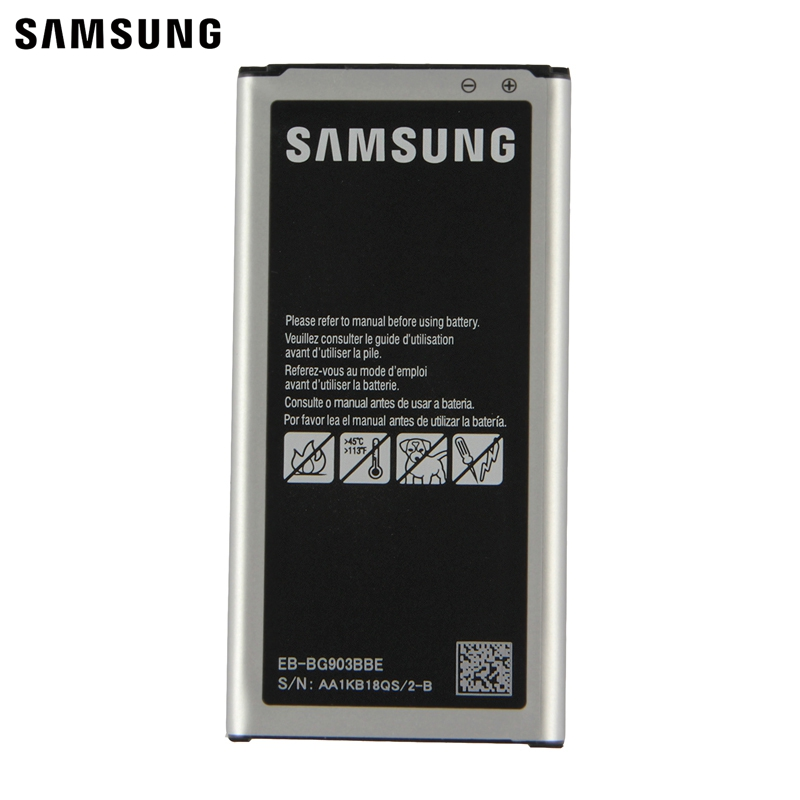 Samsung Original Replacement Battery EB BG903BBE For Samsung Galaxy S5 NEO G903F G903W Authentic font b