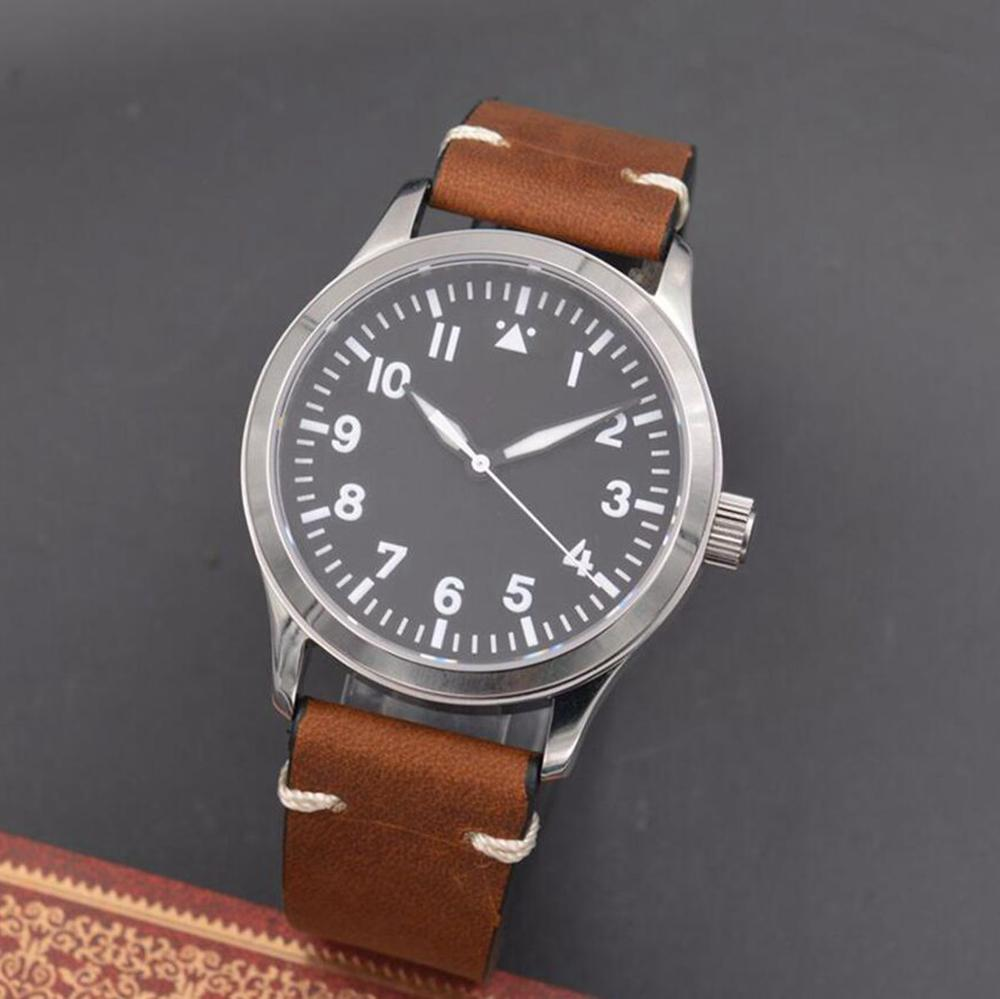 2019 new Corgeut Military Men Automatic Watches Luxury Brand Sport Design male Clock Leather Self Wind
