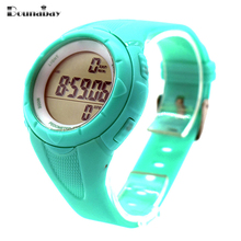 Bounabay señora impermeable relojes automáticos de pulsera digital para las mujeres digitais sportwatch reloj corriendo señoras nadar reloj ocasional tt