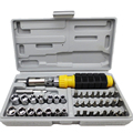 "41pcs Ratchet Screwdriver Socket Set 1/4"" Car Repair Tool hand tools Combination Bit Set Tool Kit"