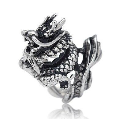 Bague femme dragon