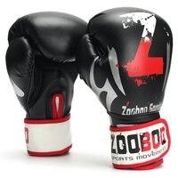 1 Par MMA Tailandés Guantes de Boxeo Guantes de Sacos de arena de Fitness Mano de LA PU Punching Pad Guante Guante Pad Para La construcción Del Cuerpo de Entrenamiento de Gimnasia Deportiva