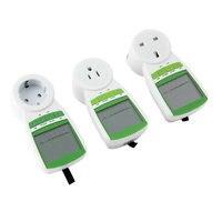 UK Podłącz Energetyka Watt Volt Amp Miernik Analyzer Elektryczność ekran LCD monitora 230 V 50Hz