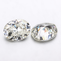 Oval shape brilliant cut 10x8m 3.0 carats GH color diamonds moissanites gemstone for wedding ring