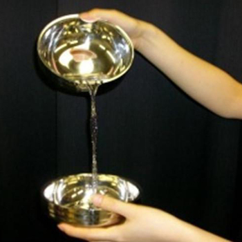 Magic Water Appearing From Empty Bowl/Water From Above Bowl Magic Trick,accessories Close Up Magic Gimmick Magia Toys,Classic