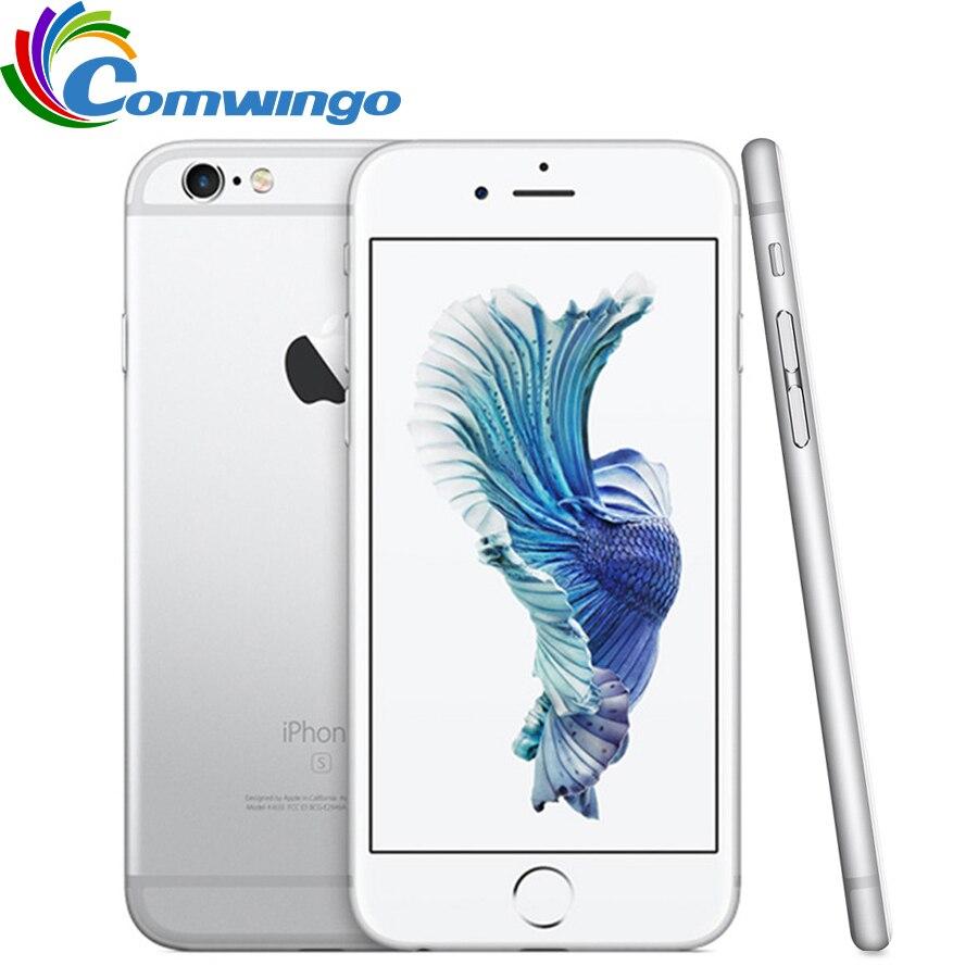 Galleria fotografica Original Unlocked Apple iPhone 6s iOS Dual Core 2GB RAM 16GB 64GB 128GB ROM 4.7